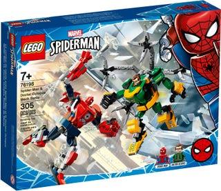 Mech-Duell zwischen Spider-Man & Doctor Octopus