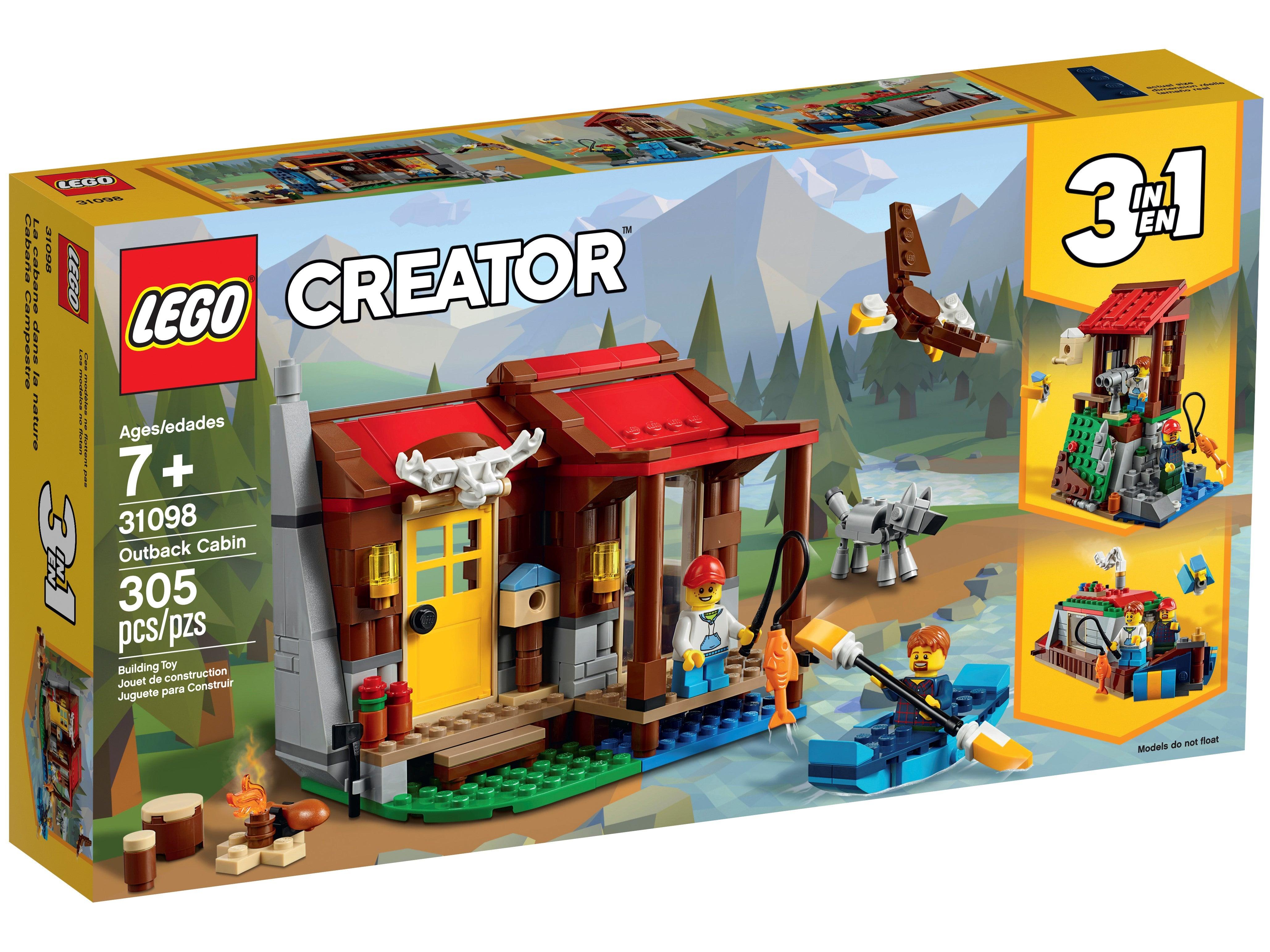 Outback Cabin 31098 LEGO Creator