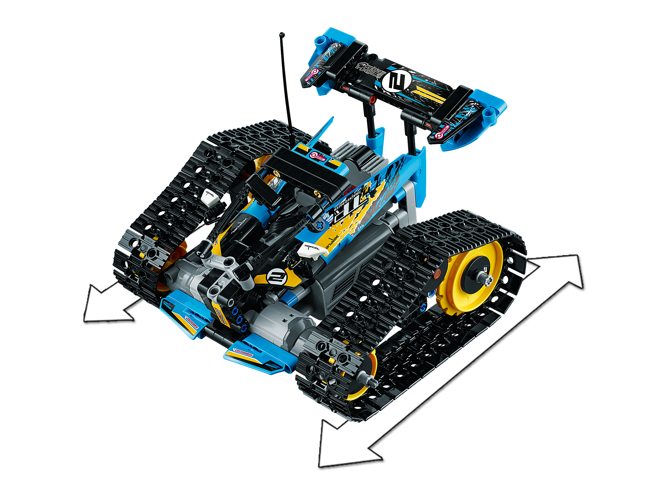 Remote Controlled Stunt Racer 42095 Technic Buy Online At The Official Lego Shop Us