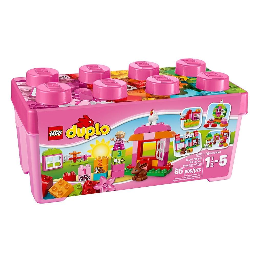 1x Lego Duplo Furniture Crawl Box Yellow 4x4 Playpen Box Basket 2252