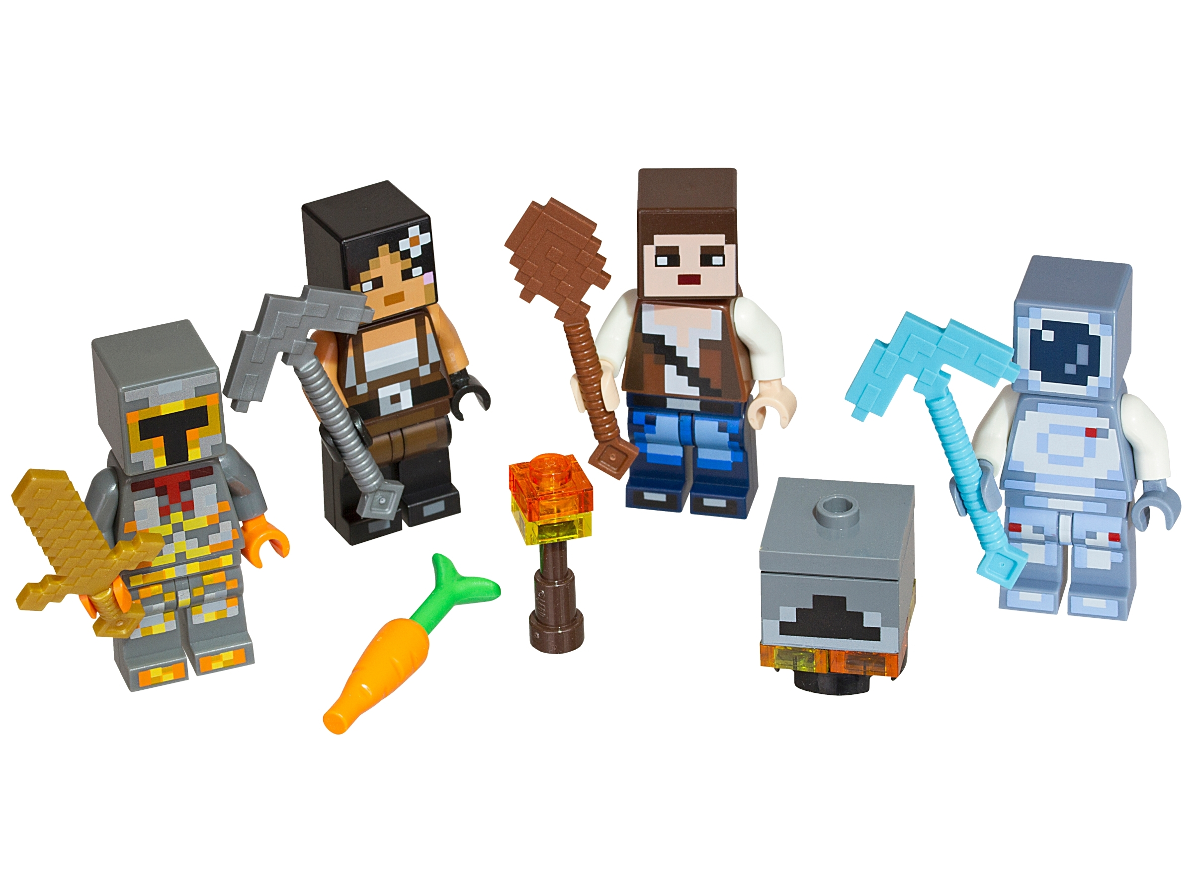 lego minecraft minifigures for sale