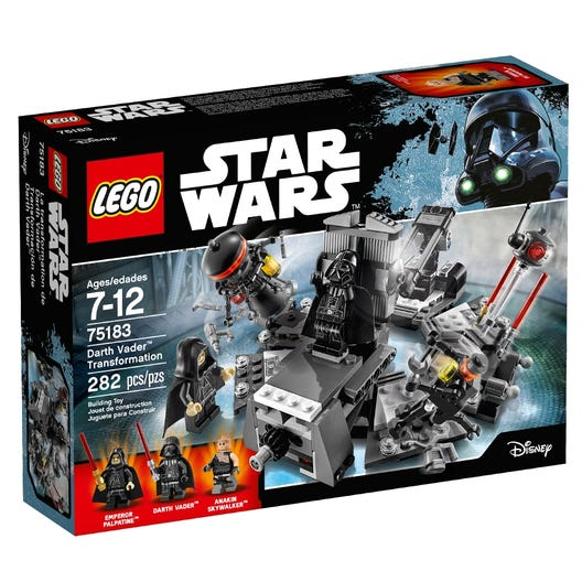 Darth Vader Transformation 75183 Star Wars Buy Online At The Official Lego Shop Ca