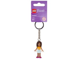 LEGO® Friends Andrea Keyring