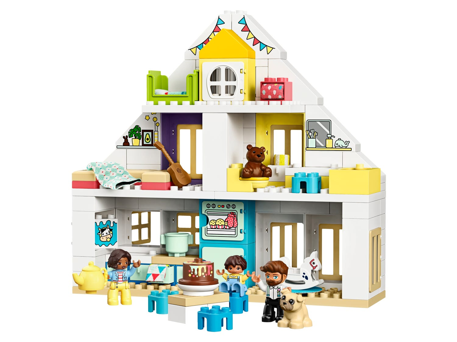 La Maison Modulable 10929 Duplo Boutique Lego Officielle Fr