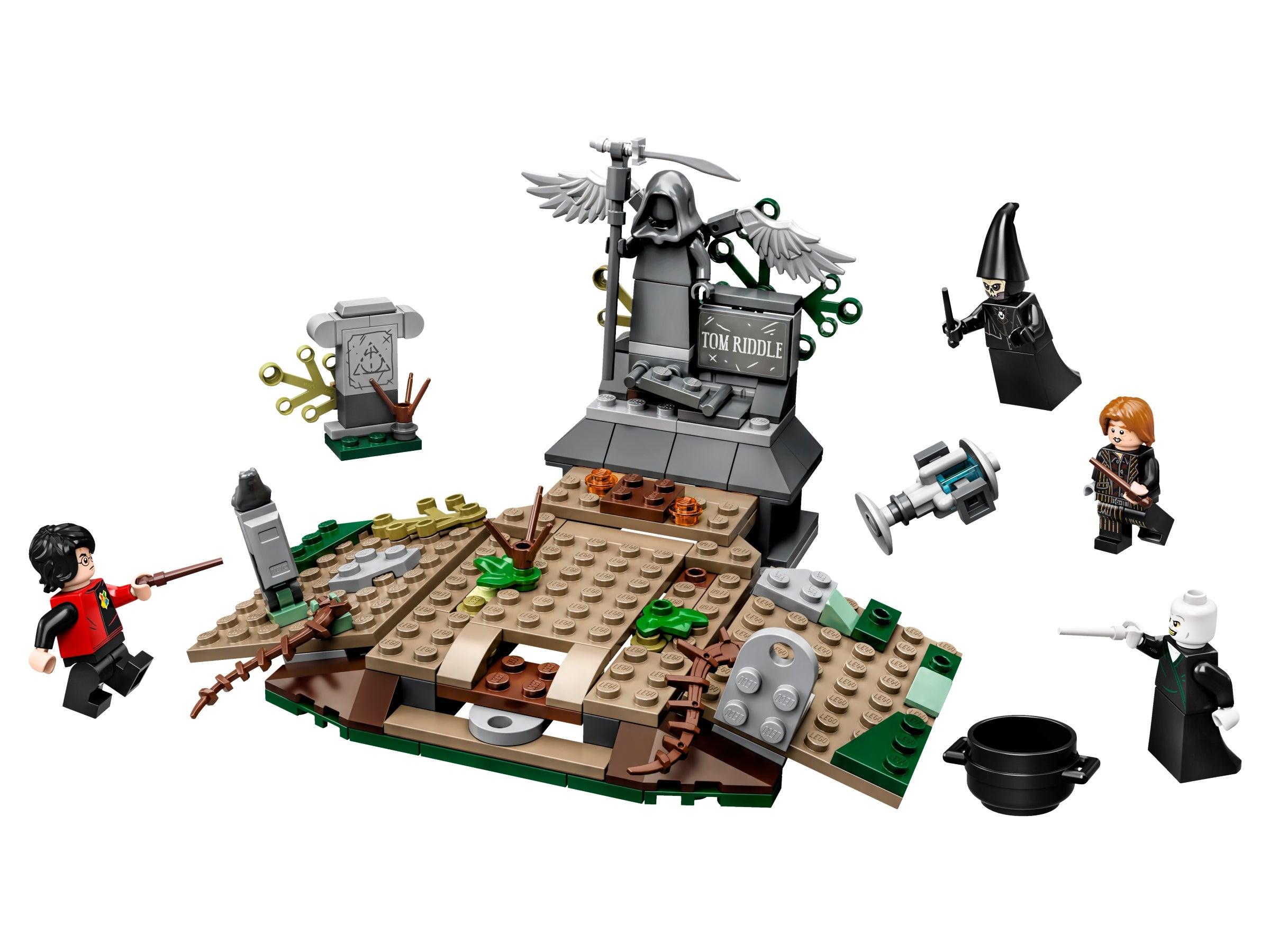 Genuine LEGO Harry Potter Baby Voldemort figurine #hp194 from set 75965