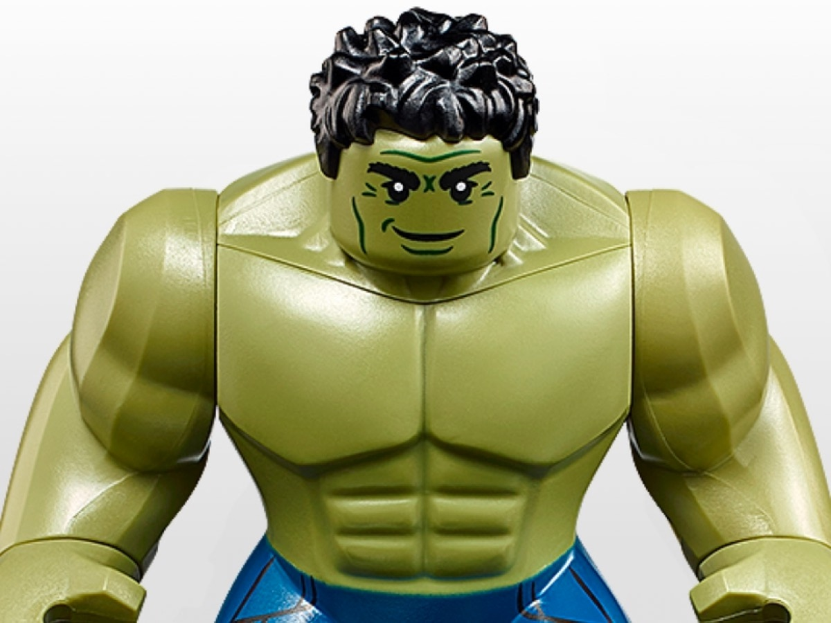 Incredible Hulk Marvel Super Heroes Avengers End Game Mini Figure Use With Lego