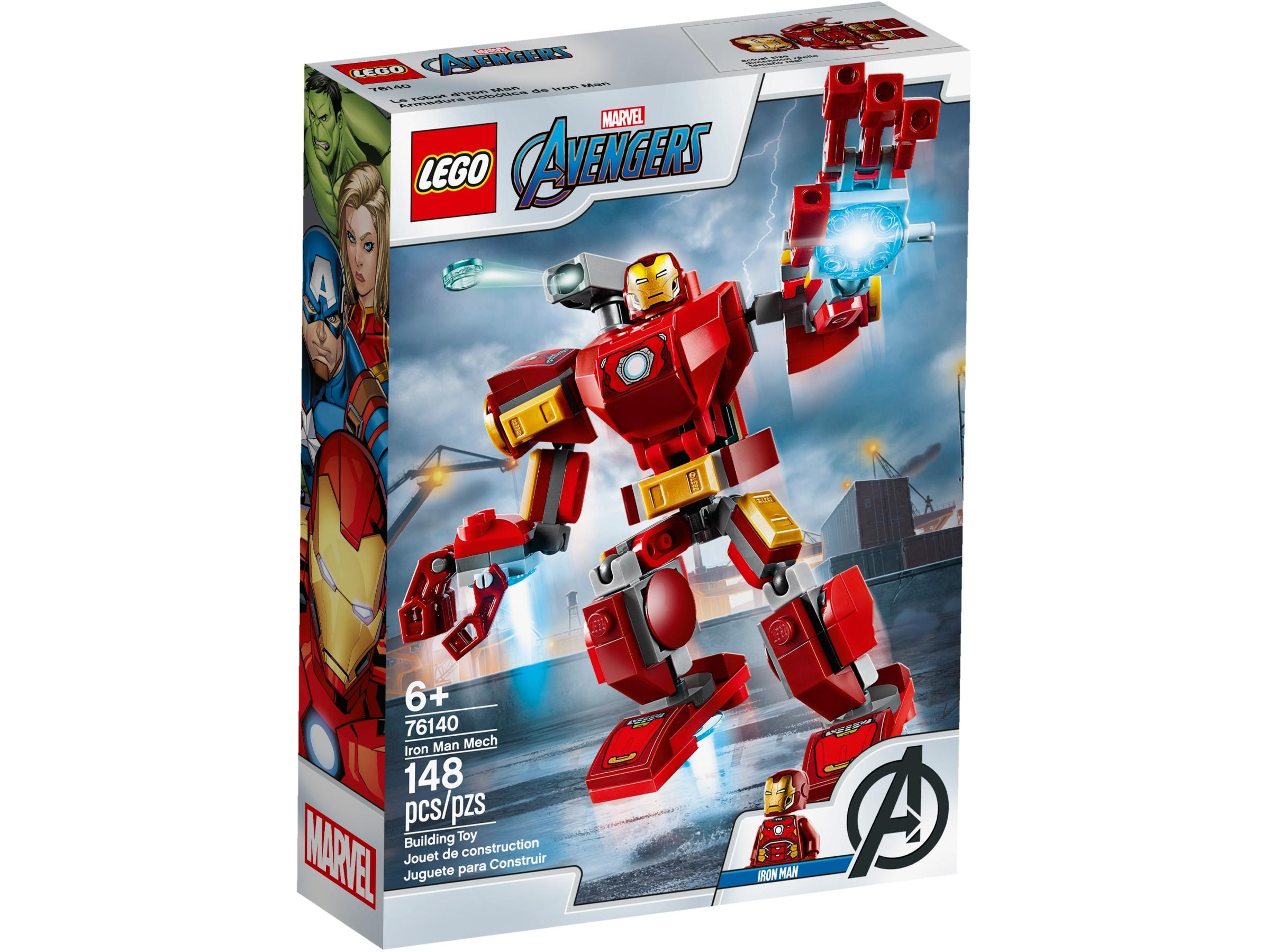Custom Lego* Set Iron Man Armored Adventures with Thanos BAF