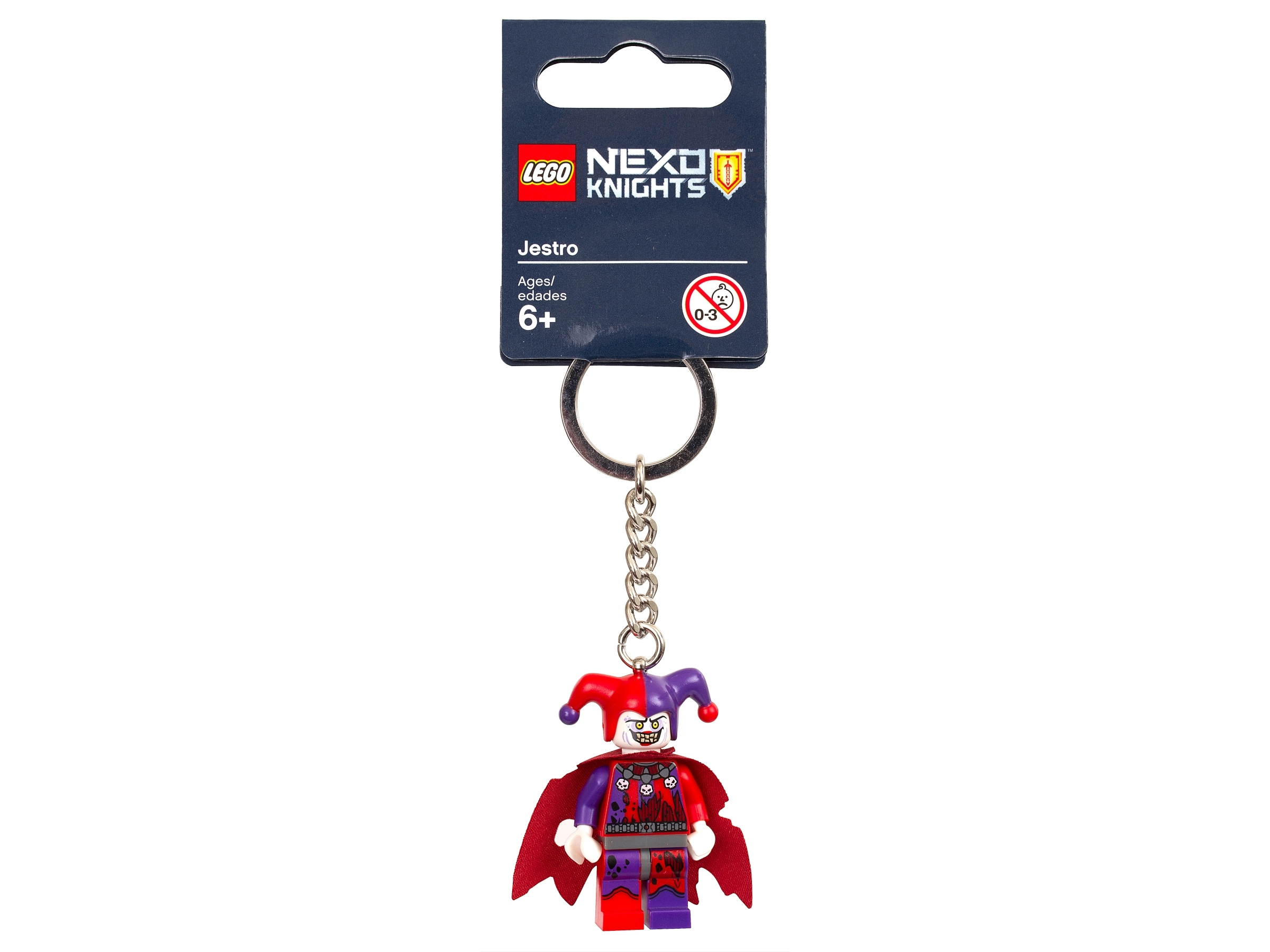 NEW LEGONEXO KNIGHTS MINIFIG KEYRINGS CHOOSE WHICH U WANT GREAT FOR PARTY BAGS