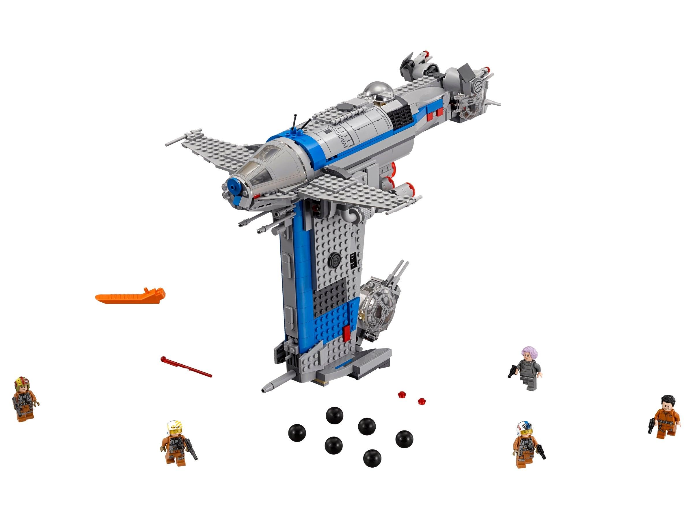 LEGO Star Wars 75188 Resistance Bomber!