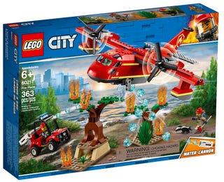 Löschflugzeug der Feuerwehr