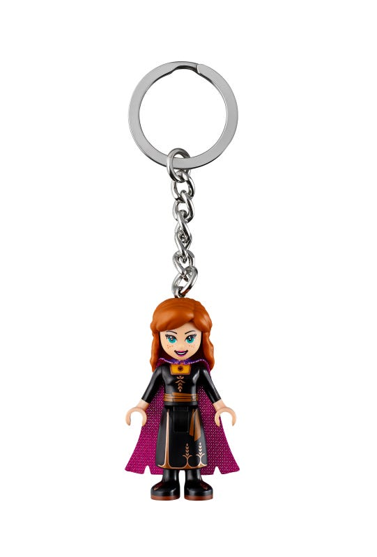 LEGO Disney Frozen 2 Anna Key Chain