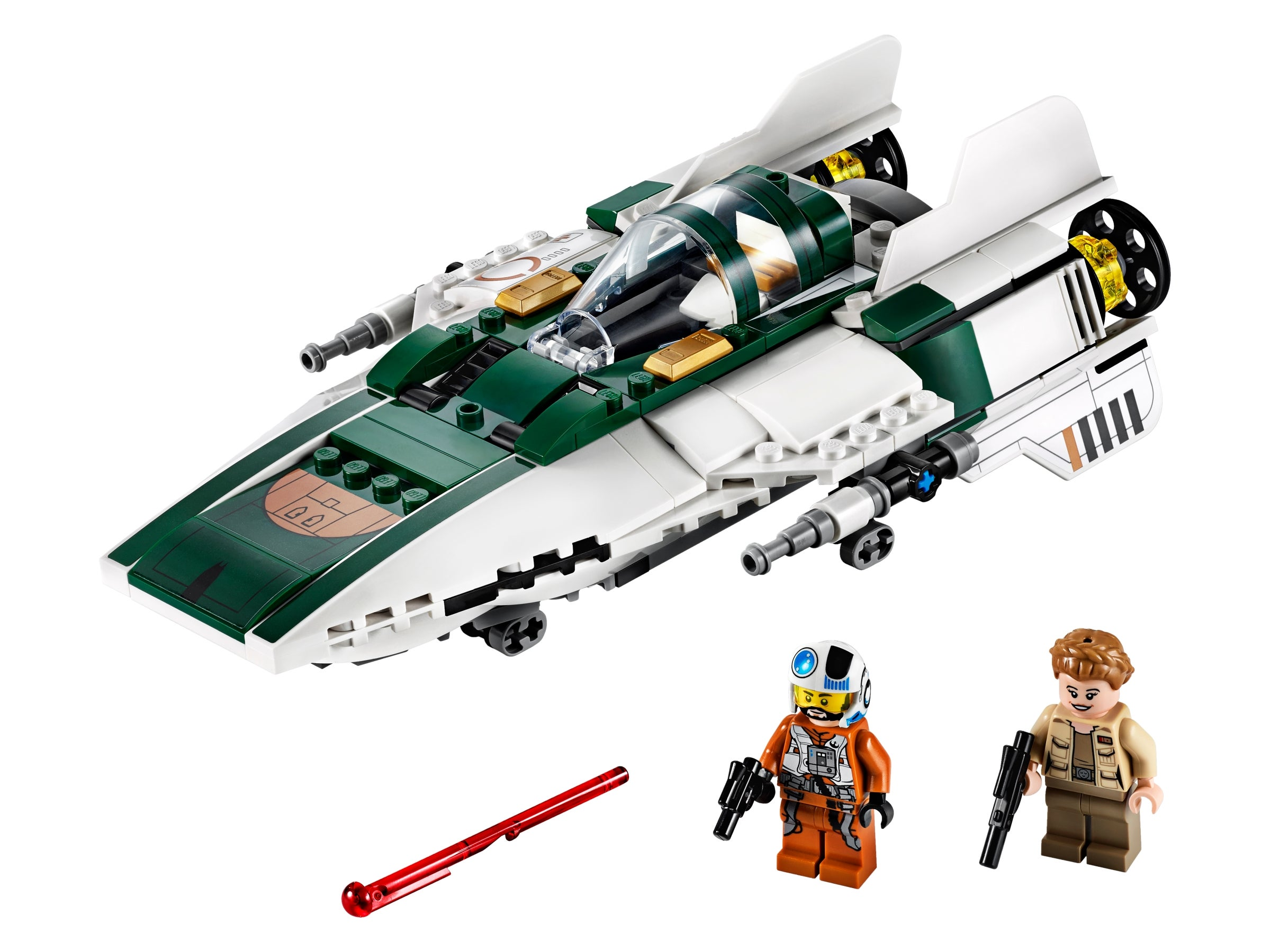 Disney Lego 75248 Star Wars The Rise of Skywalker Resistance A-Wing Starfighter