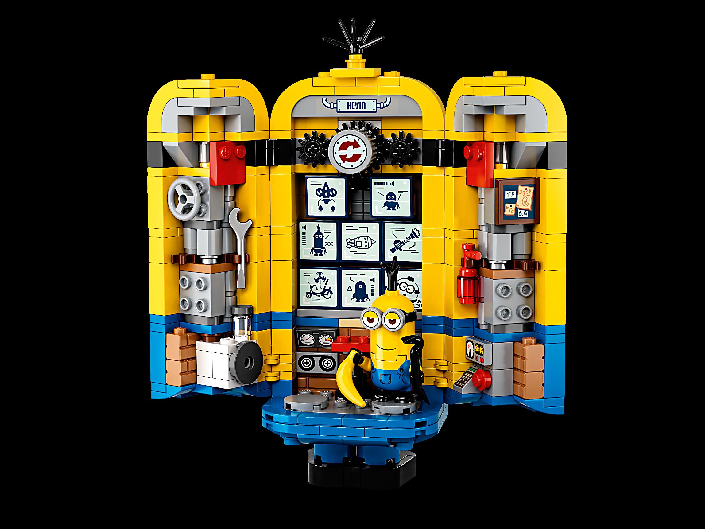 LEGO BRICK BUILT MINIONS /& THEIR LAIR KEVIN MINIFIGURE 75551 RISE OF GRU MOVIE