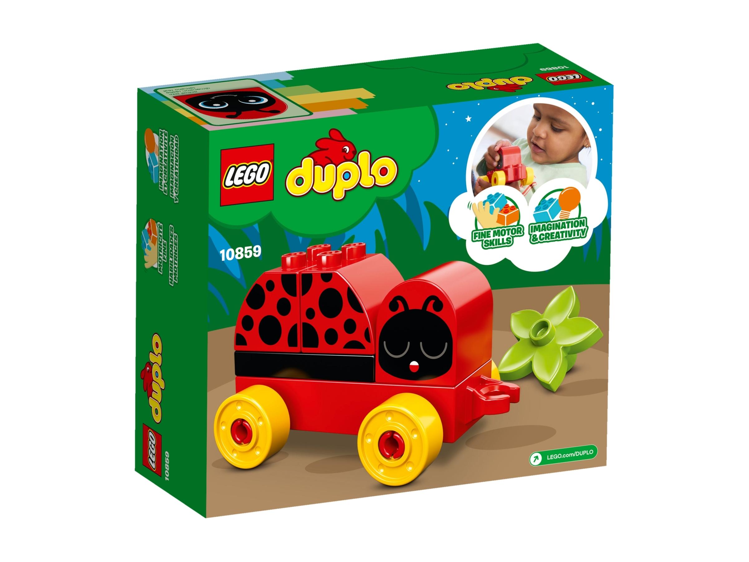 10859 LEGO Duplo Creative Play My First Ladybug 6 Pieces Age 1+