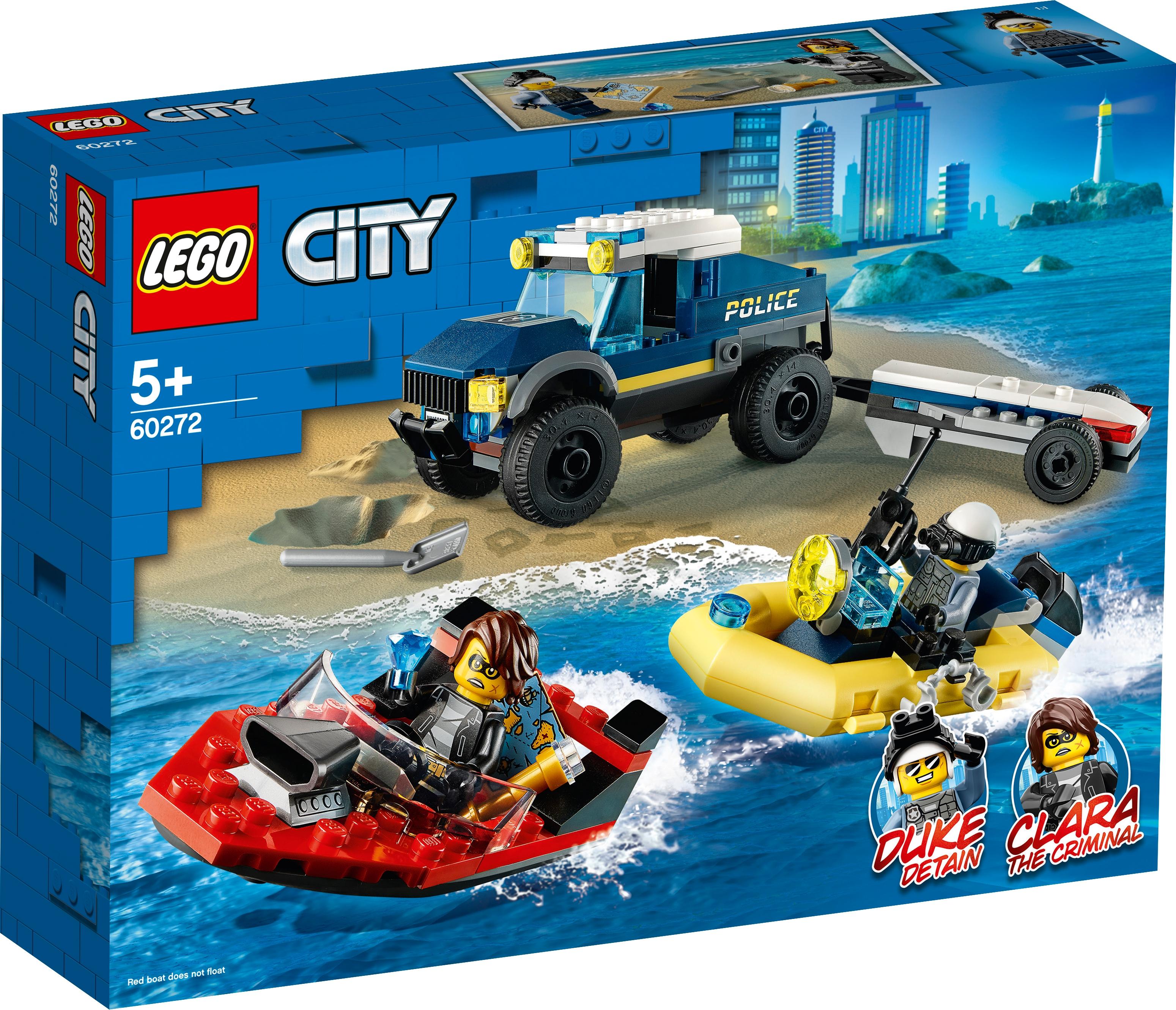 Elite Police Boat Transport 60272 City Buy Online At The Official Lego Shop Nl