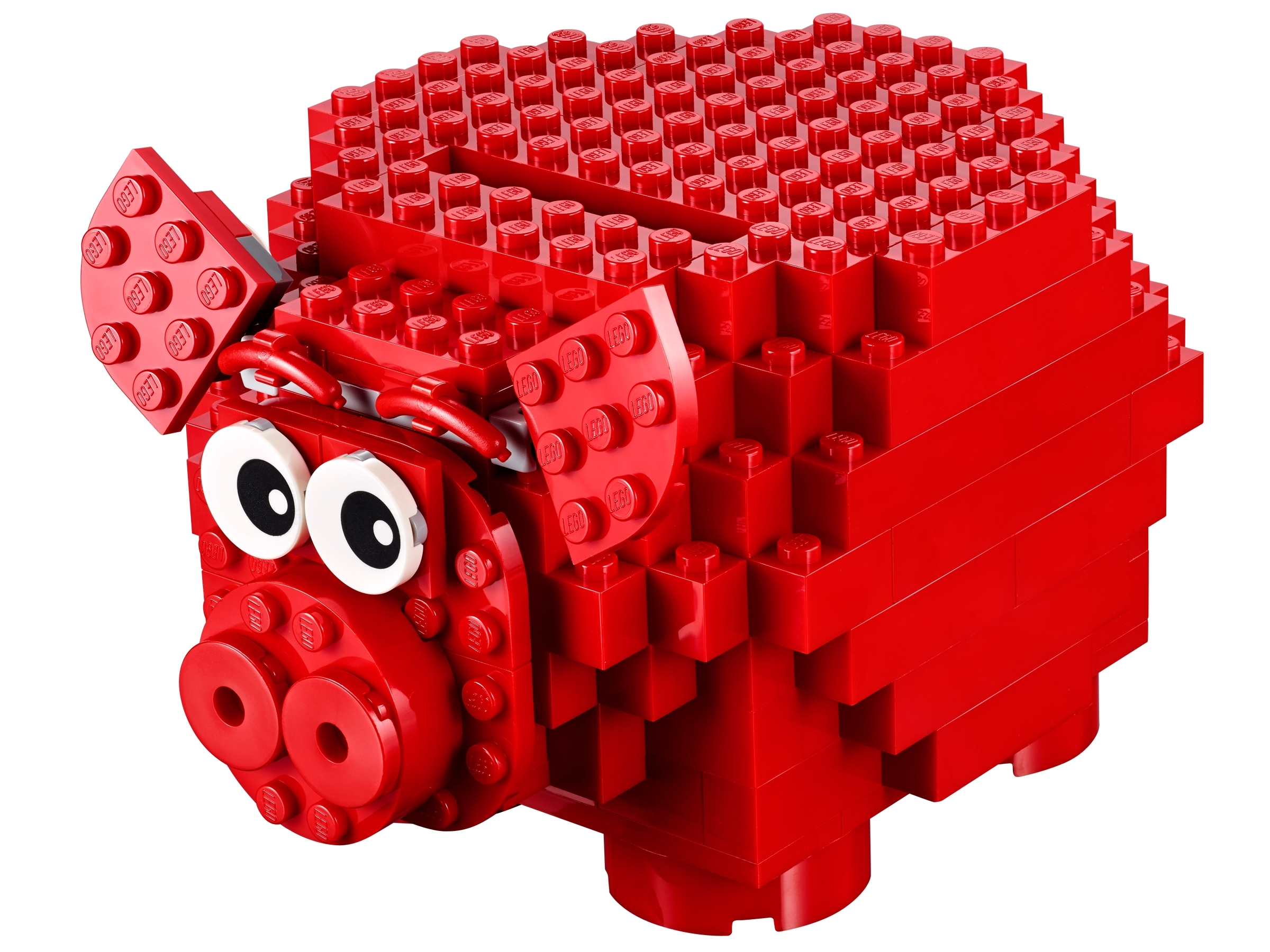 LEGO 40155 2015 Piggy Coin Bank RED