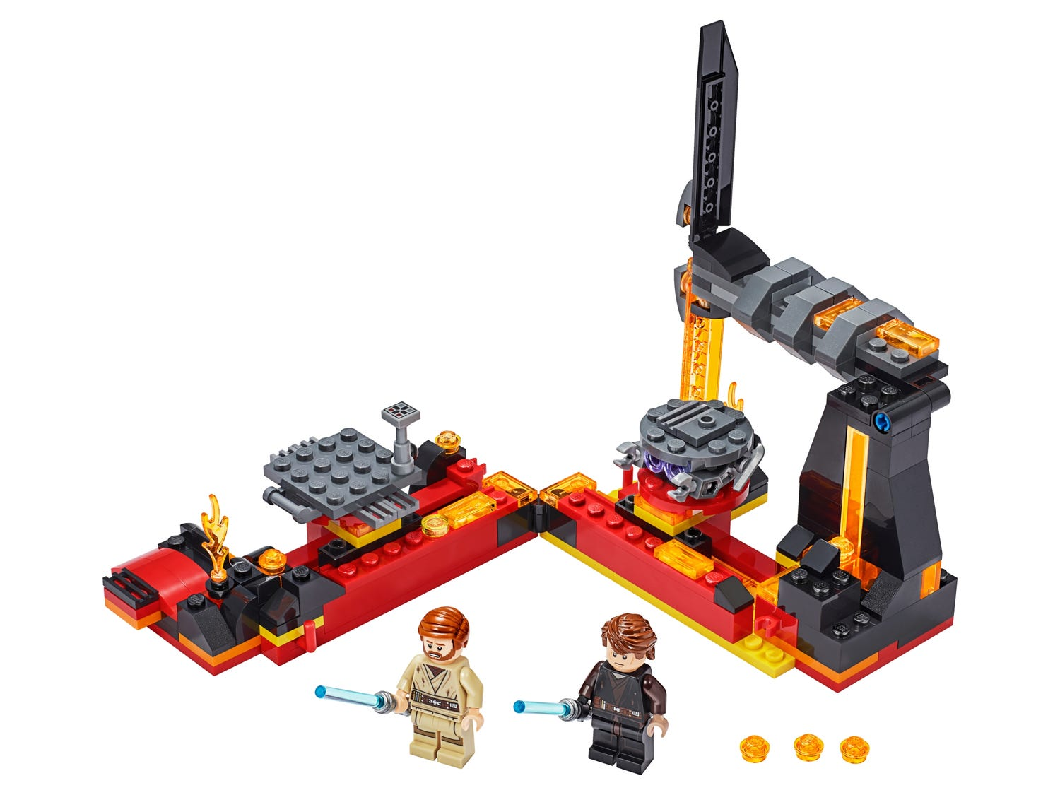 Duel On Mustafar 75269 Star Wars Buy Online At The Official Lego Shop Gb