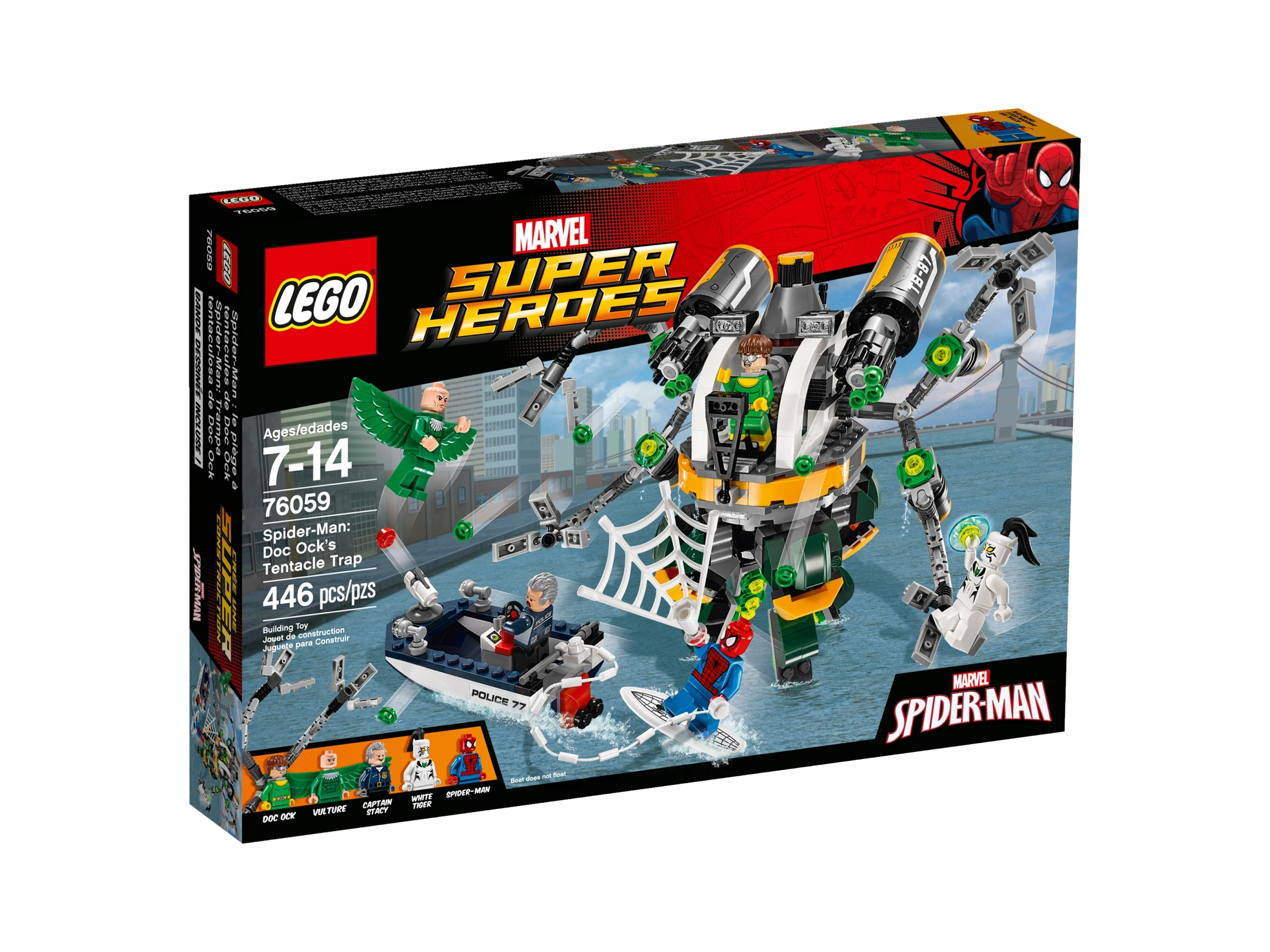 New Genuine LEGO Vulture Marvel Super Heroes 76059