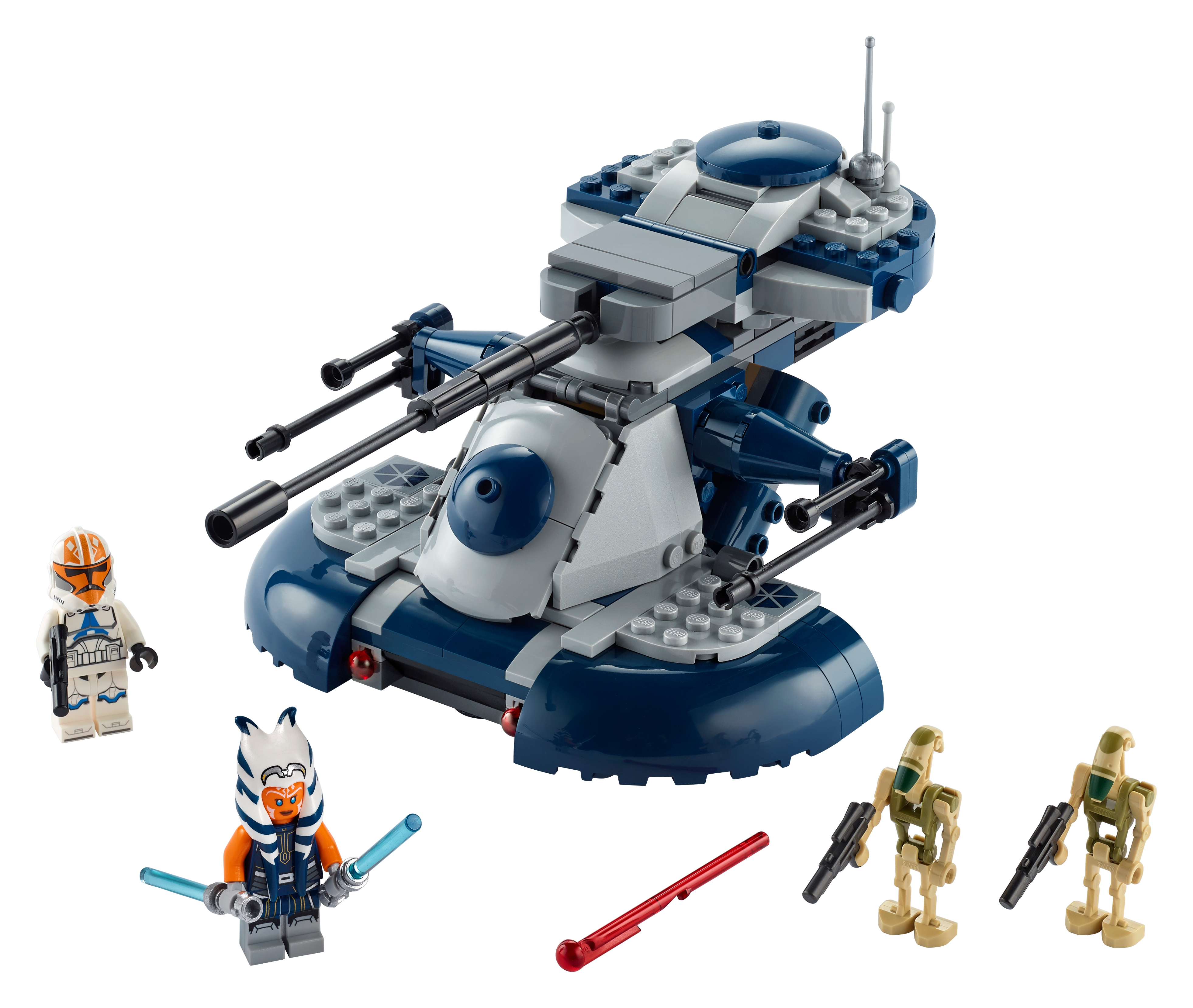 Lot of 12 Battle Droids  Minifigures MOC SHIPS FREE IN US *See Photos*