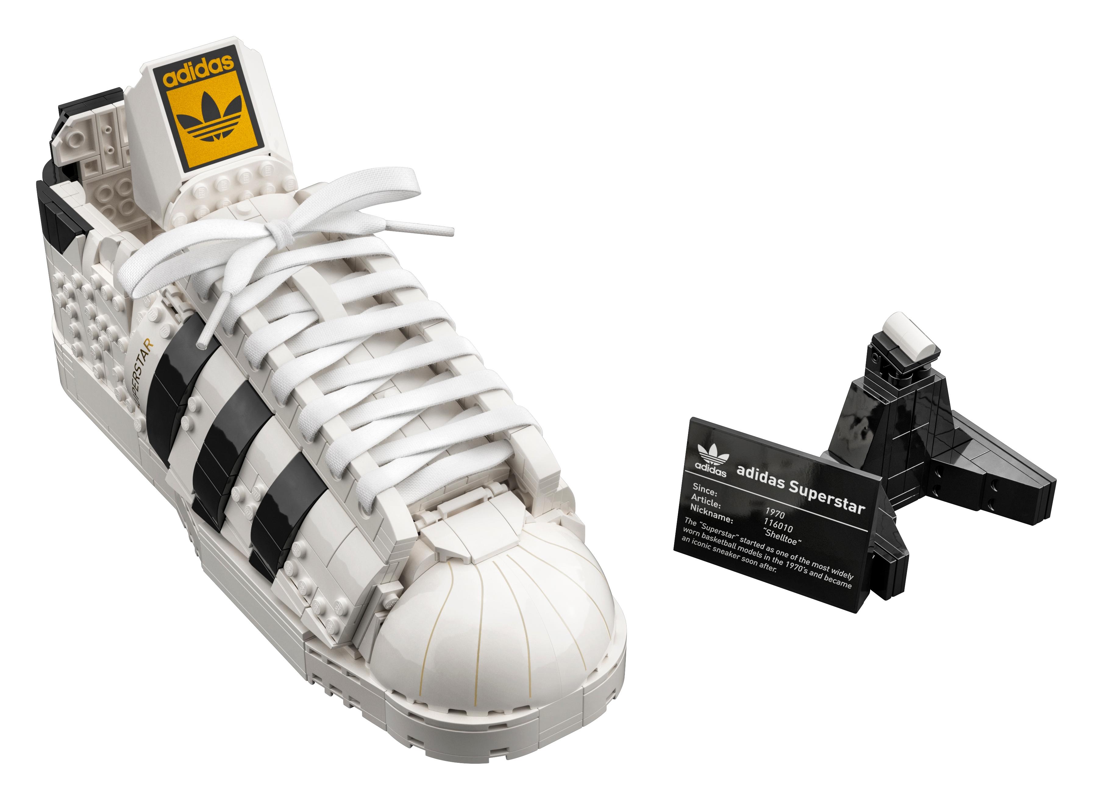 adidas Originals Superstar 10282 | Creator Expert | Buy online at the Official LEGO® Shop US