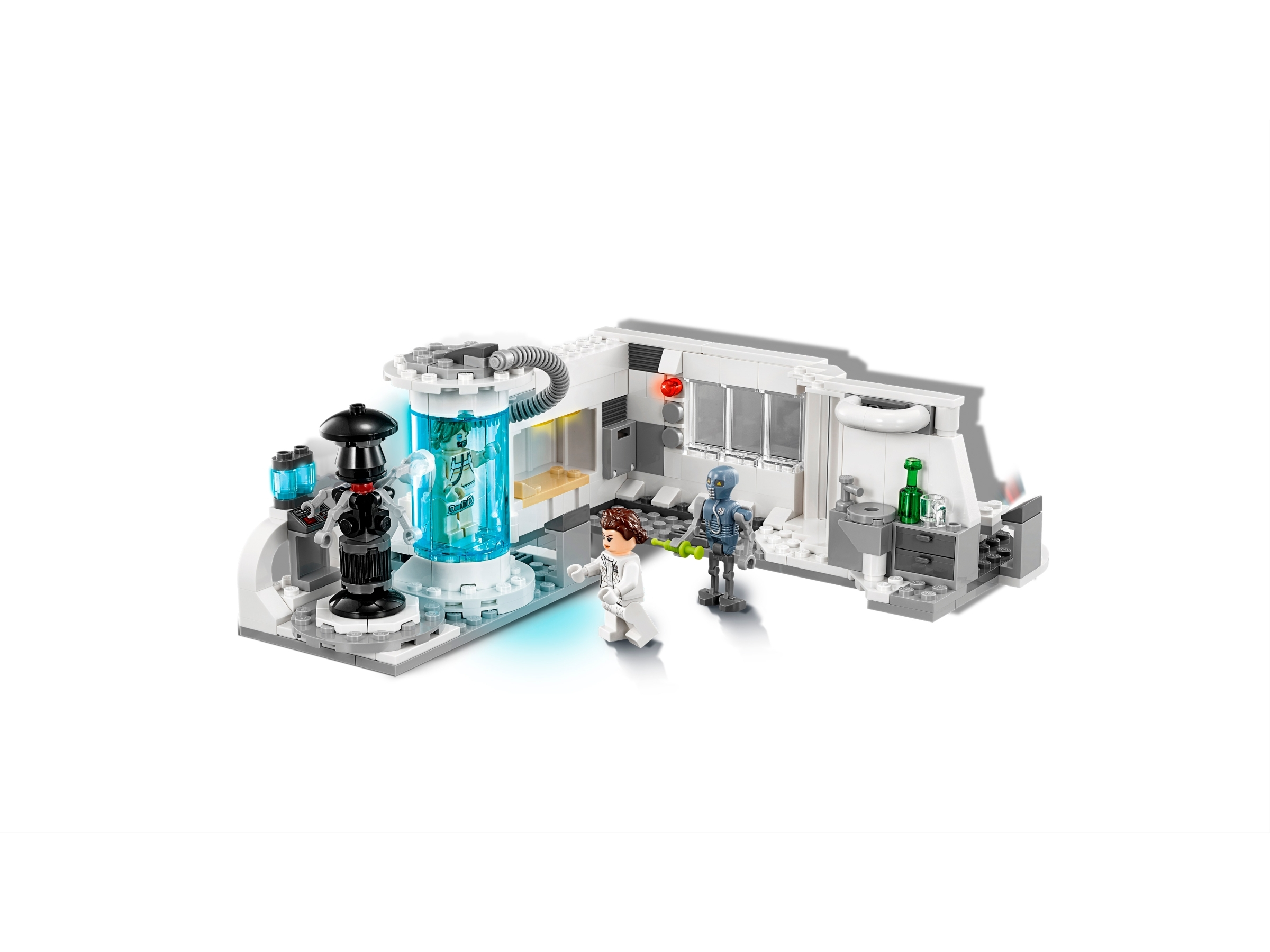 Lego Minifigure Princess Leia Hoth Outfit Star Wars Medical Chamber 75203 NEW