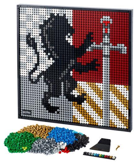 Harry Potter Hogwarts Crests 31201 Harry Potter Buy Online At The Official Lego Shop It