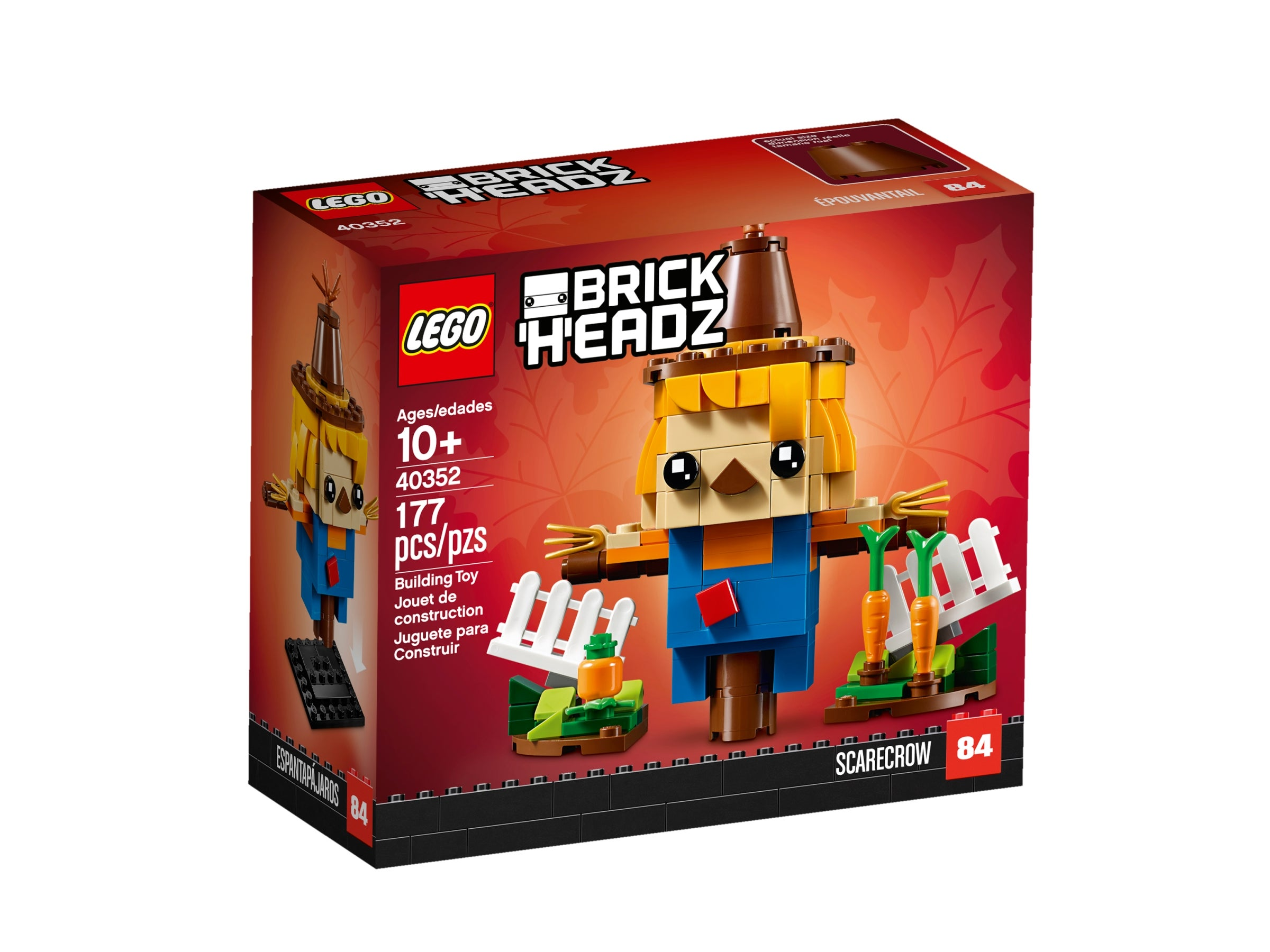 Lego 40352 BrickHeadz Scarecrow RARE NEW /& SEALED