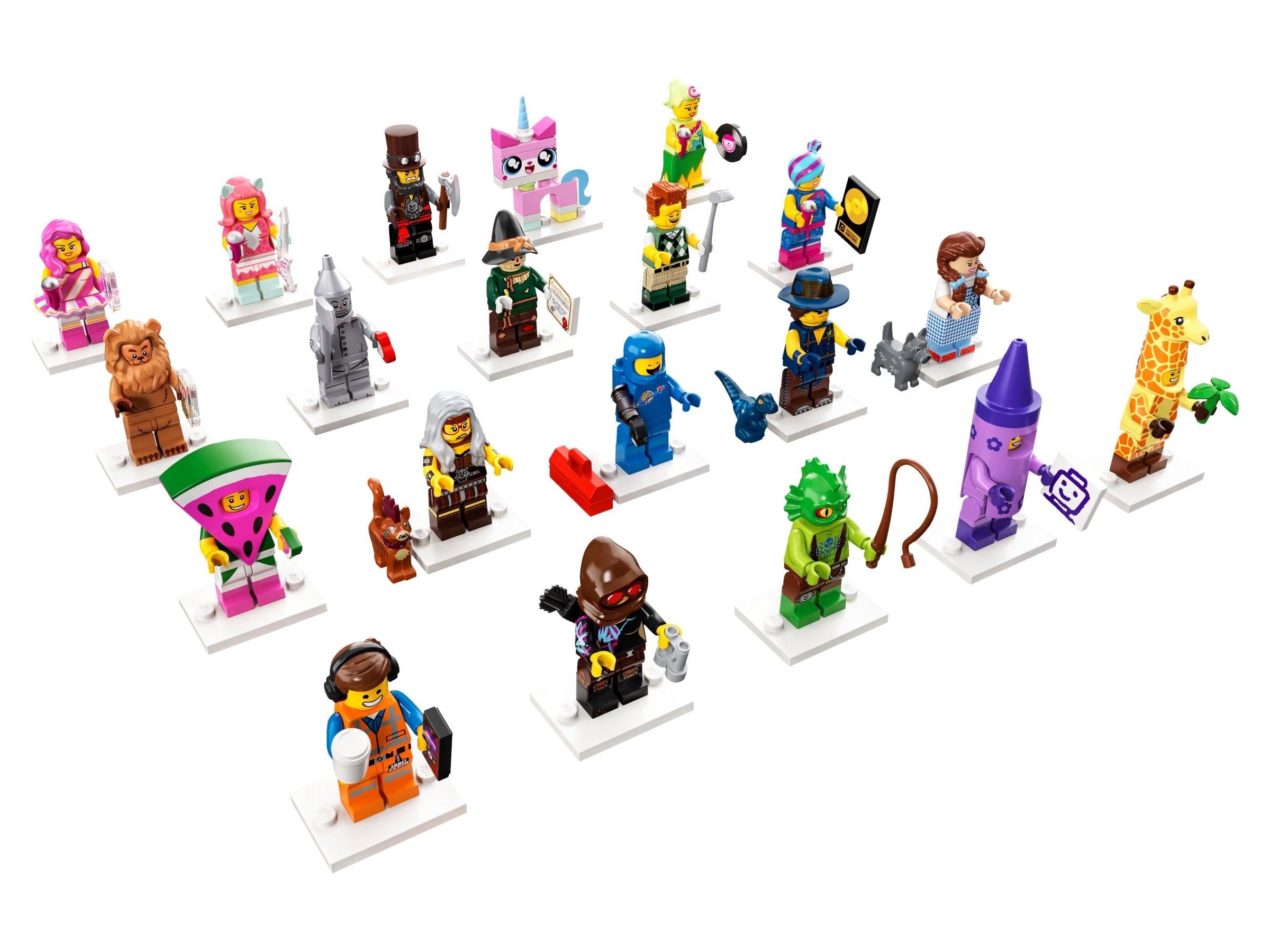 Lego The Lego Movie 2 Wildstyle Minifigure