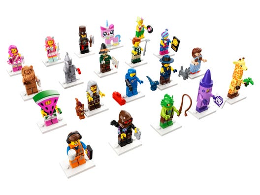 The Lego Movie 2 71023 The Lego Movie 2 Buy Online At The Official Lego Shop Mx