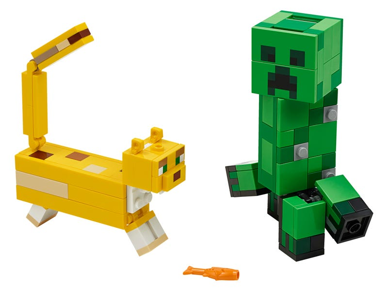 "BigFig Creeper"" and Ocelot"