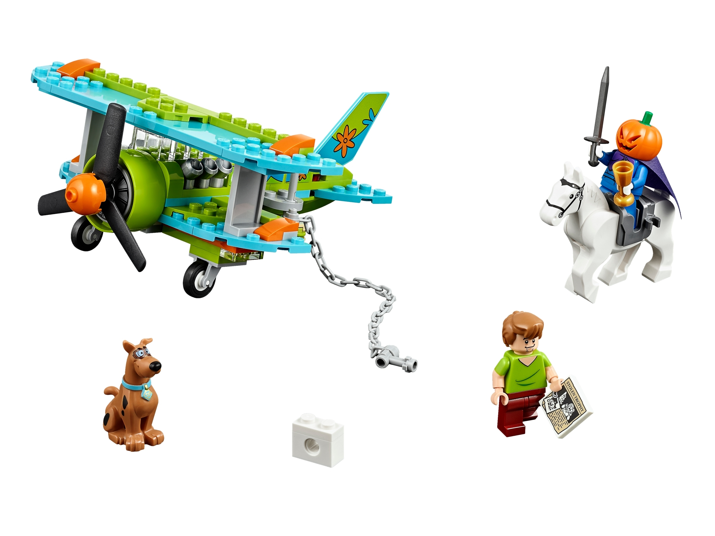 Scooby doo The Mystery Plane Adventures The Mystery Lego 75901 Toys