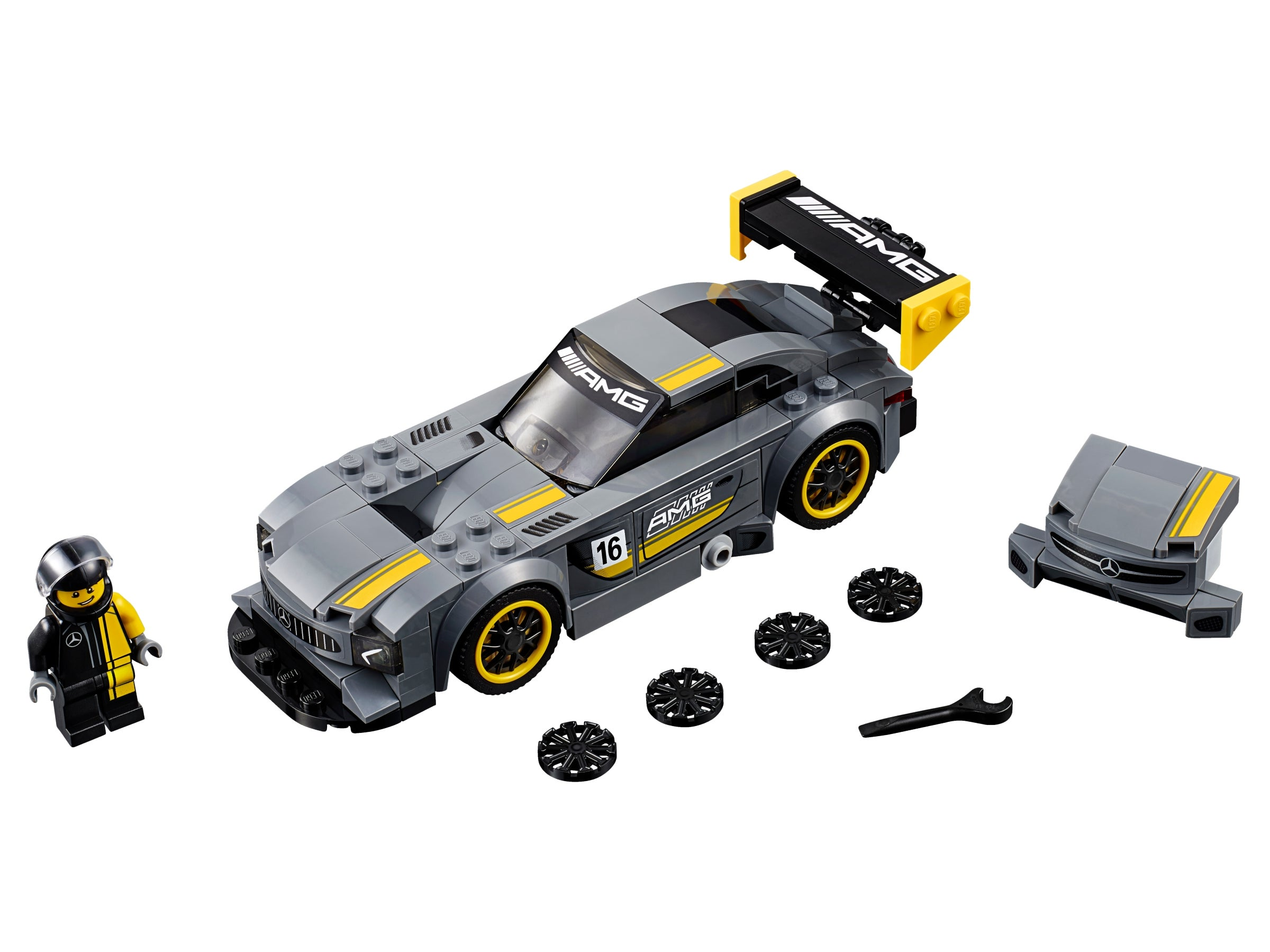 LEGO SPEED CHAMPIONS Set #75877 MERCEDES AMG GT3 New Factory Sealed 2018 RETIRED