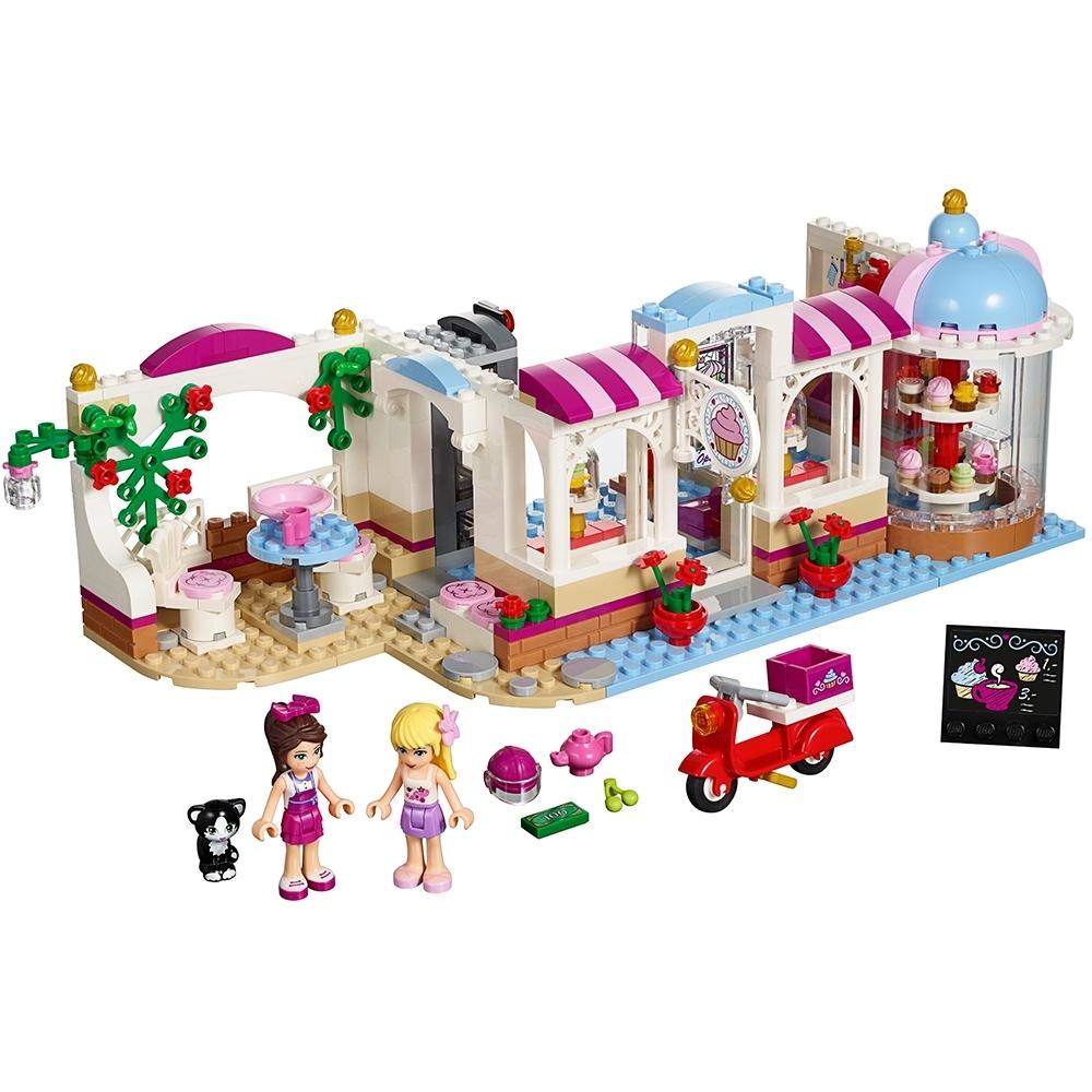 Lego BAUANLEITUNG für Friends Heartlake Cupcake Café 41119 Neu
