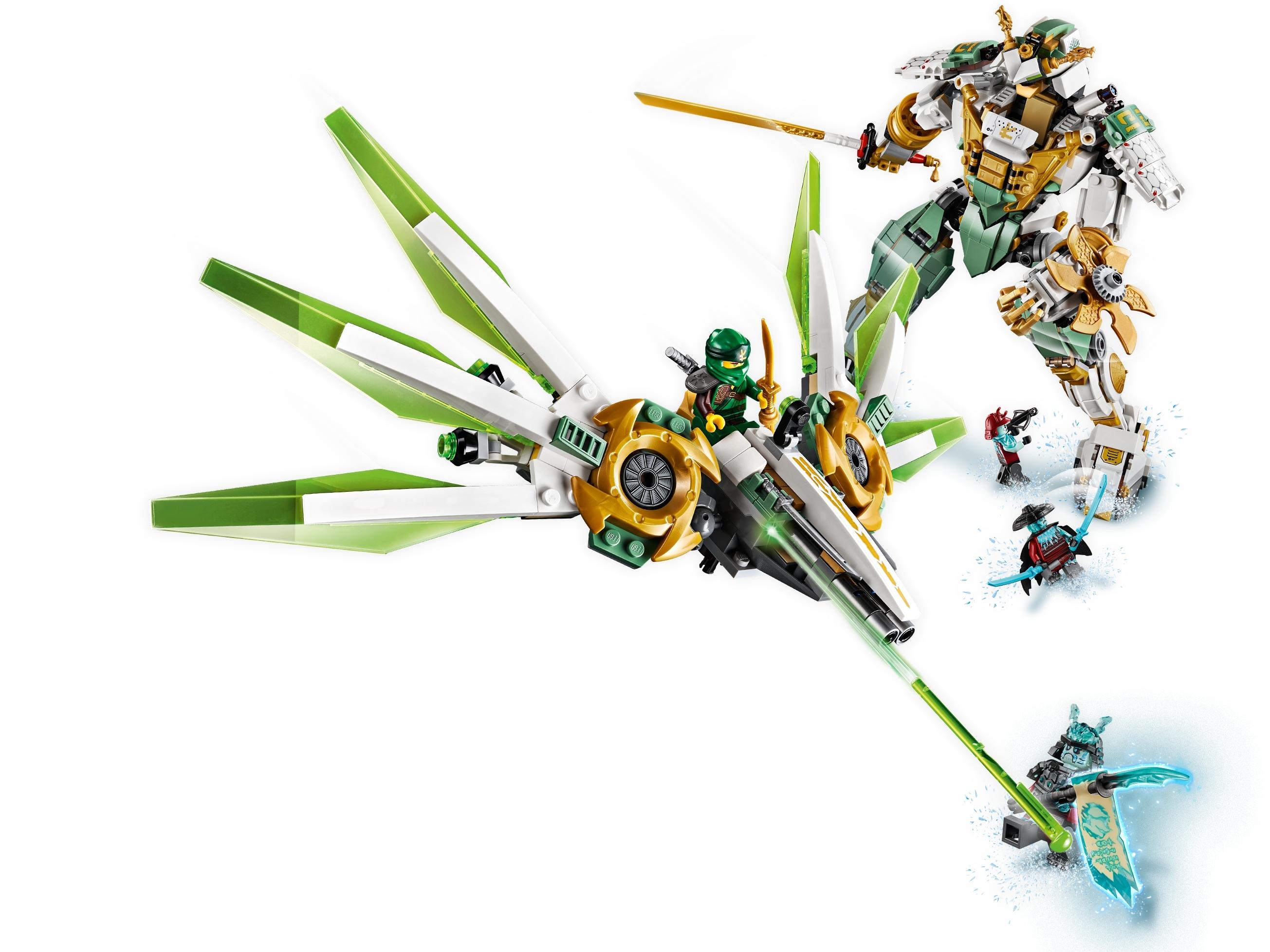 Lloyd S Titan Mech 70676 Ninjago Buy Online At The Official Lego Shop Us
