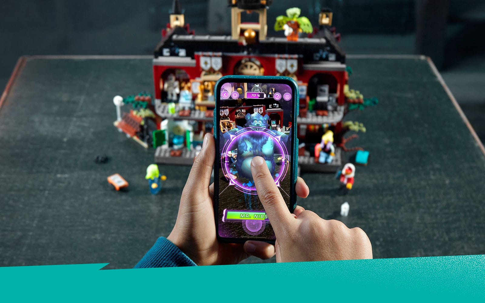 How To Use The Augmented Reality App Lego Hidden Side Lego Com Official Lego Shop Us