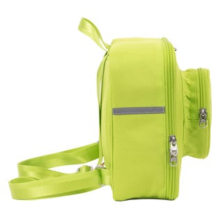 Lime Small Brick Backpack