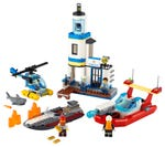 LEGO 60308 Polizei und Feuerwehr im Küsteneinsatz