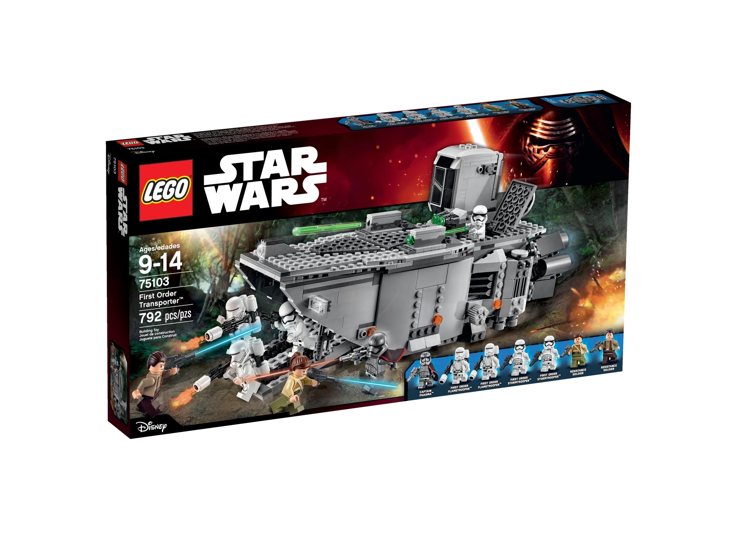 Lego® Star Wars Figur First Order Flametrooper Troopler NEU aus Set 75103
