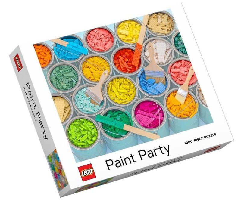 Puzzle Peinture en fête LEGO®
