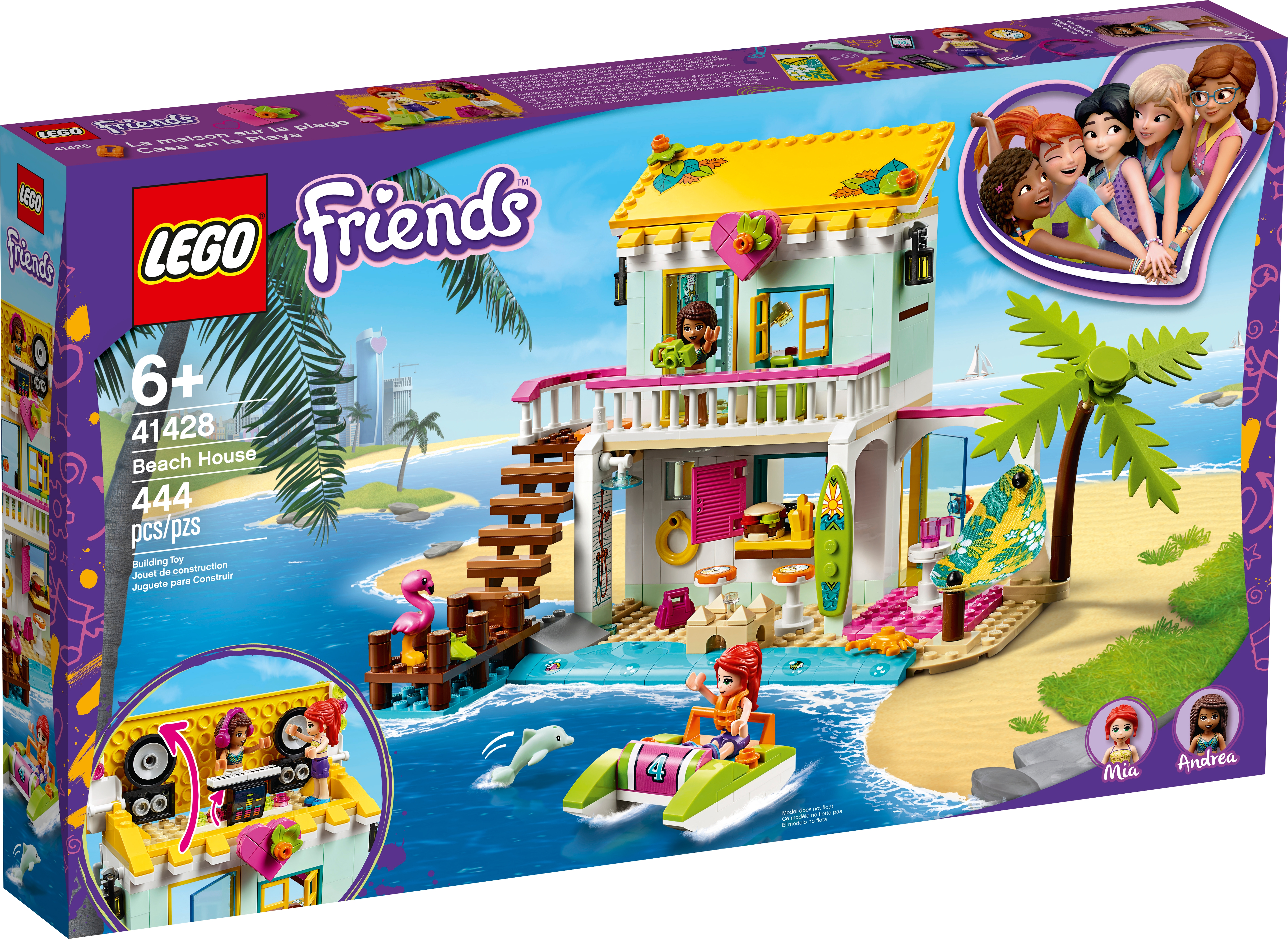 Beach House 41428 Friends Buy Online At The Official Lego Shop Se
