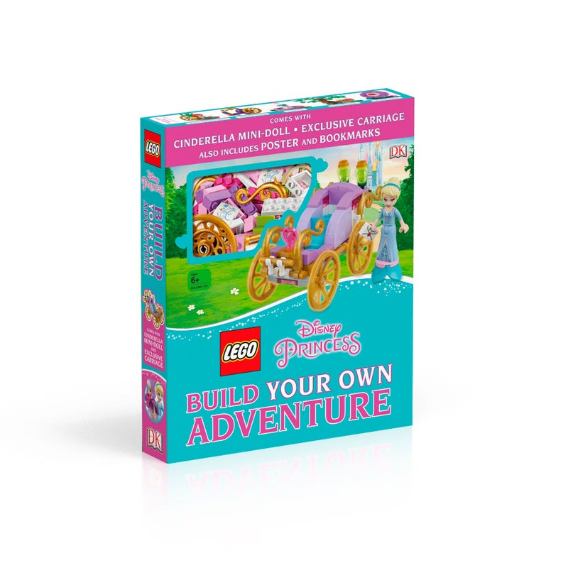 "LEGO l Disney Princess"" Build Your Own Adventure"