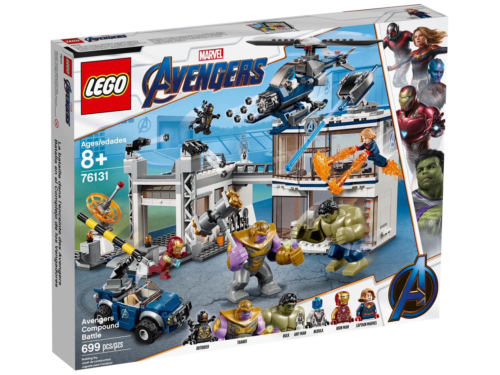 LEGO Marvel Super Heroes Nebula MINIFIG from Lego set #76131 Brand New