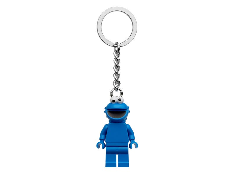 Cookie Monster Keyring