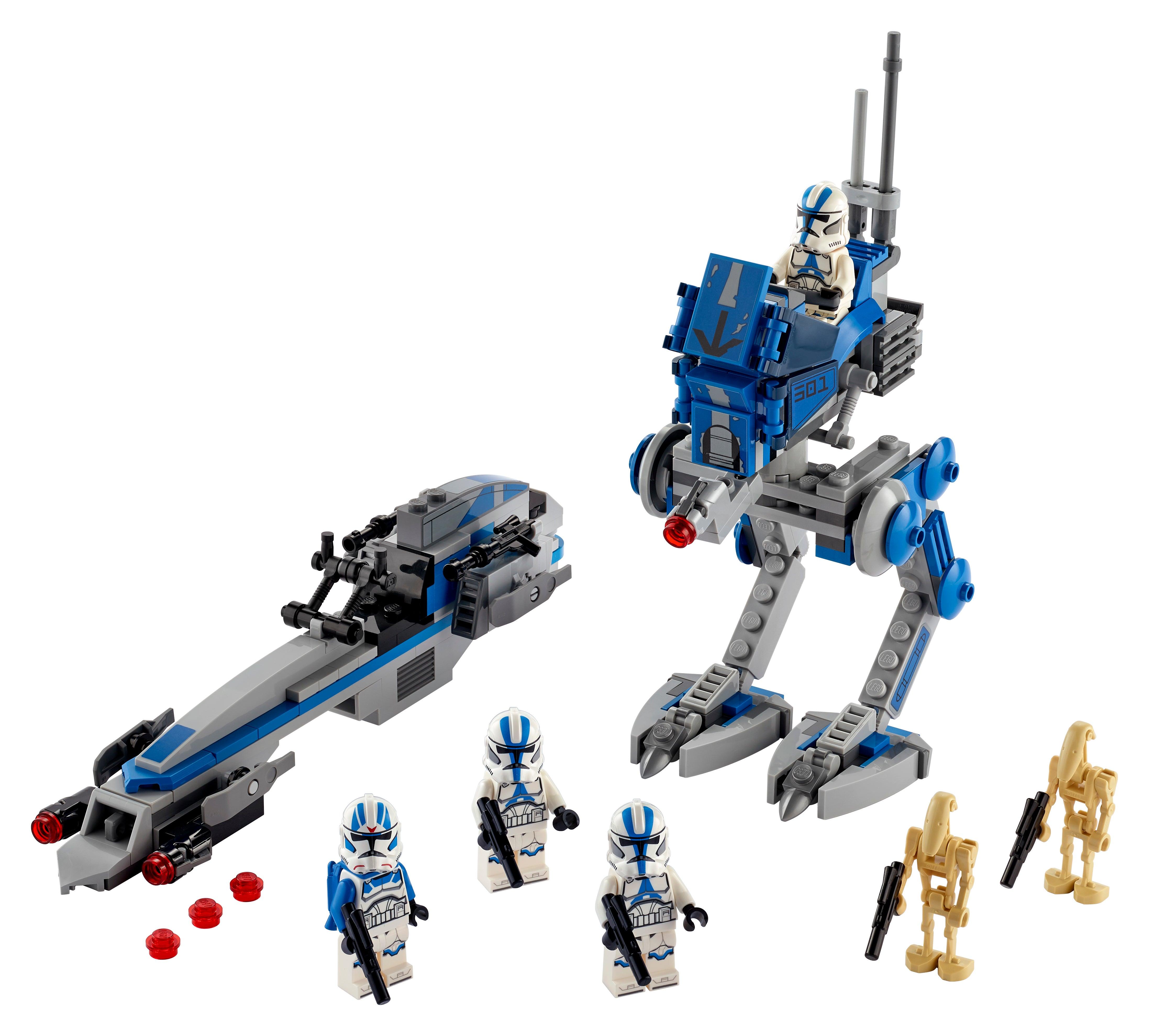 LEGO Star Wars 501st Legion Clone Trooper Battle Pack 75280 NEW MISB