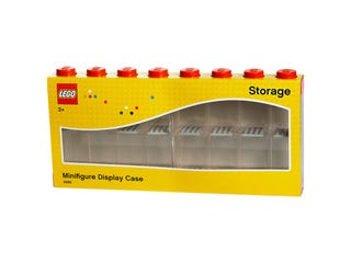 LEGO® Minifigure Display Case 16 – Red