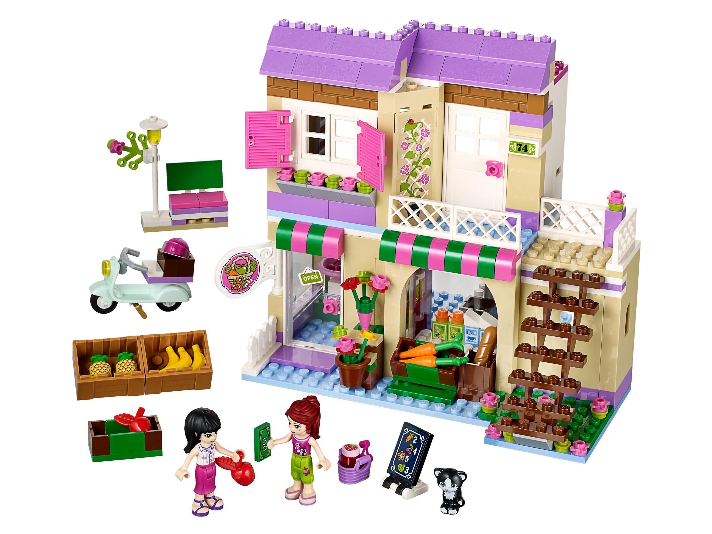 Targ warzywny w Heartlake 41108   Friends   Oficjalnym sklepie LEGO® PL