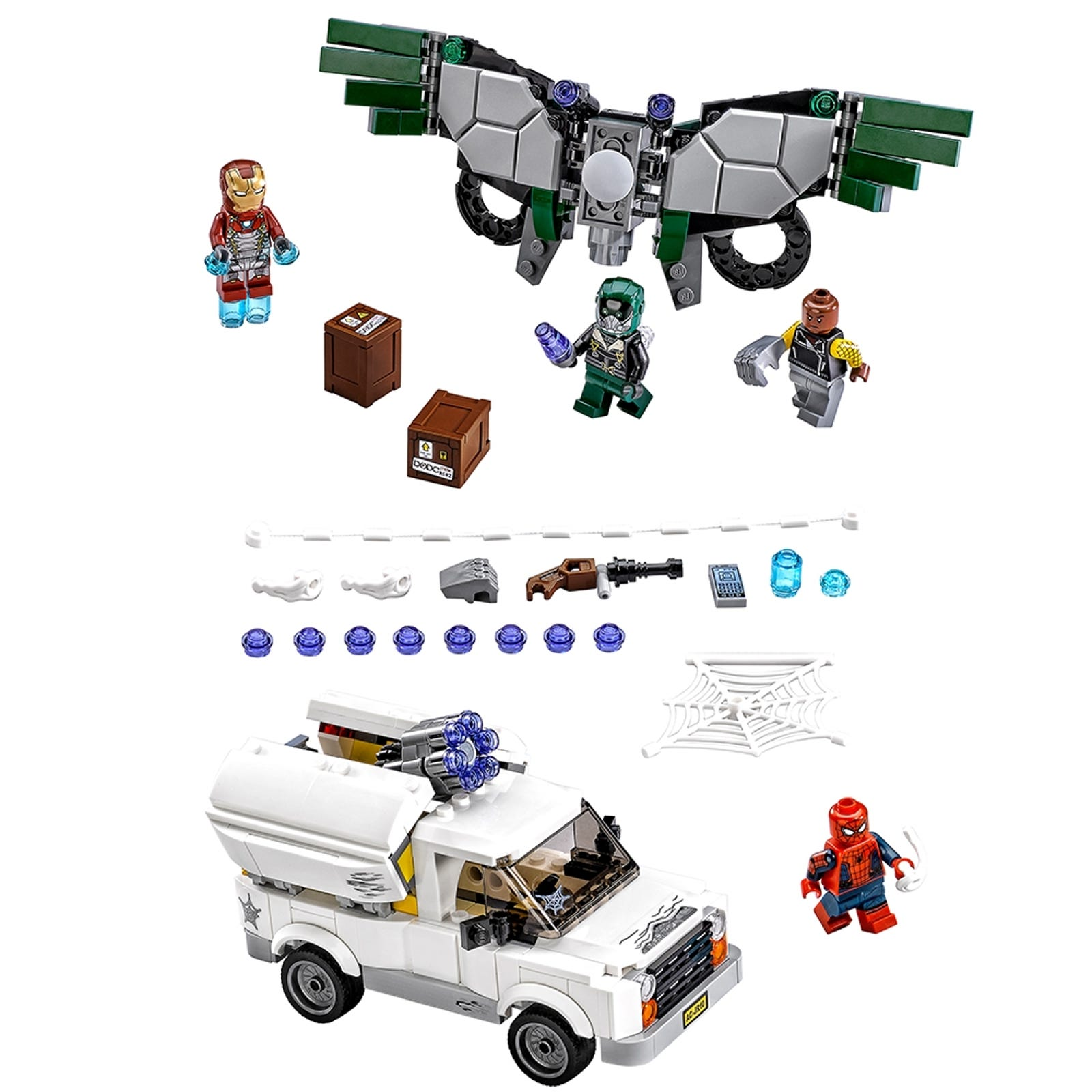 Beware The Vulture 76083 Marvel Buy Online At The Official Lego Shop Au