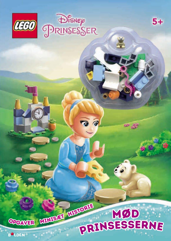 LEGO® ǀ Disney Prinsesser Aktivitetsbog med minifigur: Mød prinsesserne