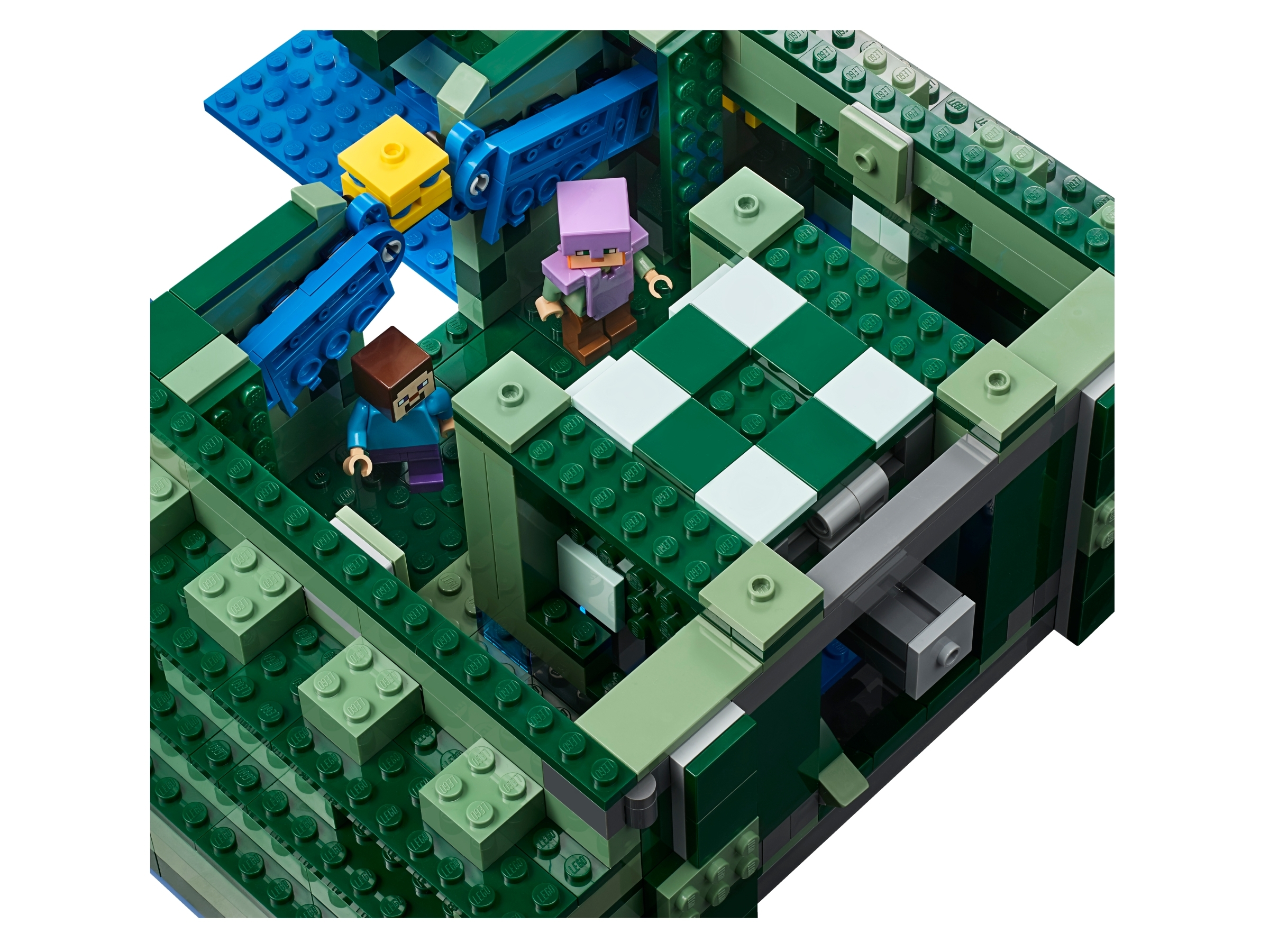 The Ocean Monument 21136 Minecraft Buy Online At The Official Lego Shop Us