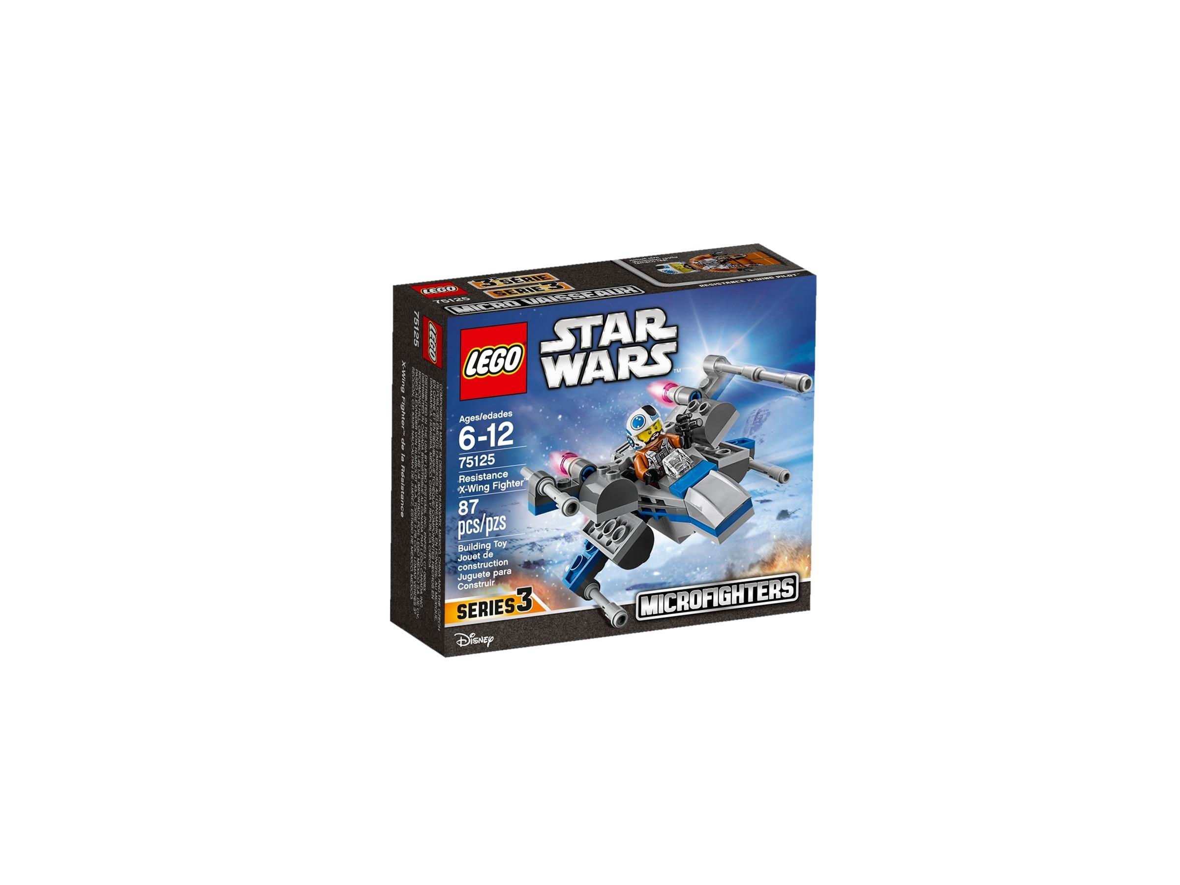 Resistance X-Wing Fighter Nuovo-fuori catalogo LEGO Star Wars 75125